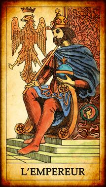 Carte du Tarot L'Empereur