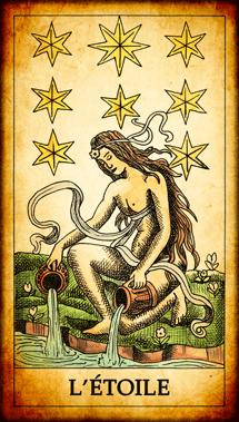 Carte du Tarot L'Étoile