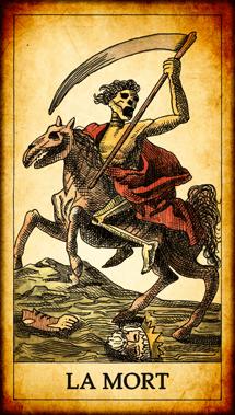 Carte du Tarot La Mort