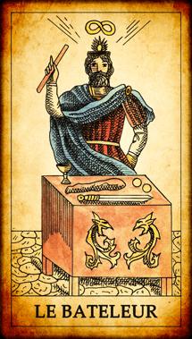 Carte du Tarot Le Bateleur