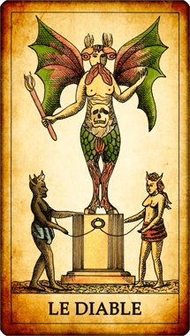 Carte du Tarot Le Diable