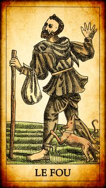 Carte du Tarot Le Fou