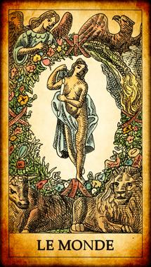 Carte du Tarot Le Monde