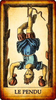 Carte du Tarot Le Pendu