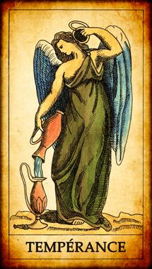 Carte du Tarot Tempérance